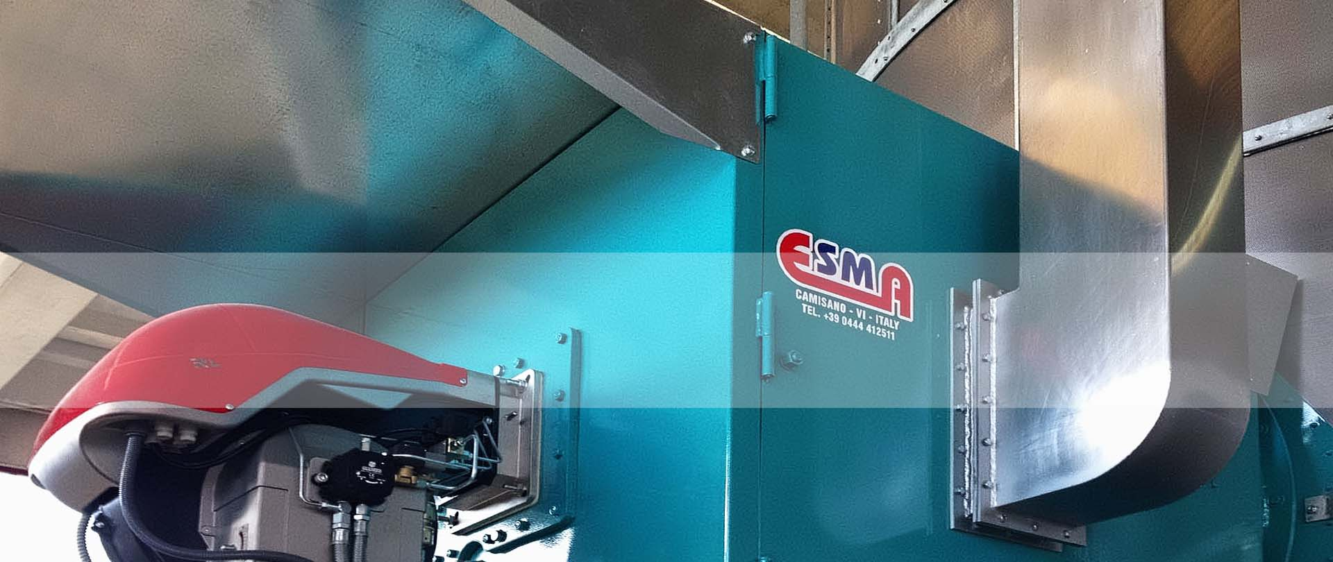 ESMA Grain Dryers