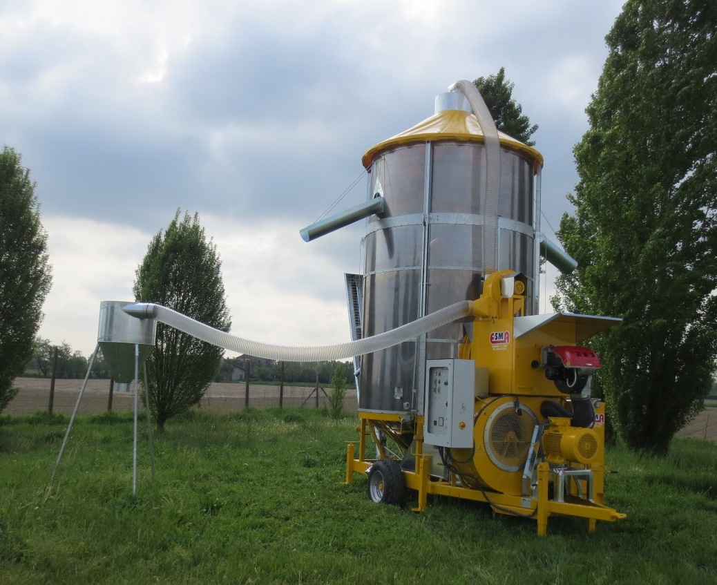 Esma mobile and static grain dryers
